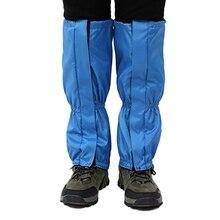 Qualité 1 paire guêtres pour randonnée neige bottes guêtres respirant imperméable marche haute jambe couverture pour la recherche en plein air escalade F