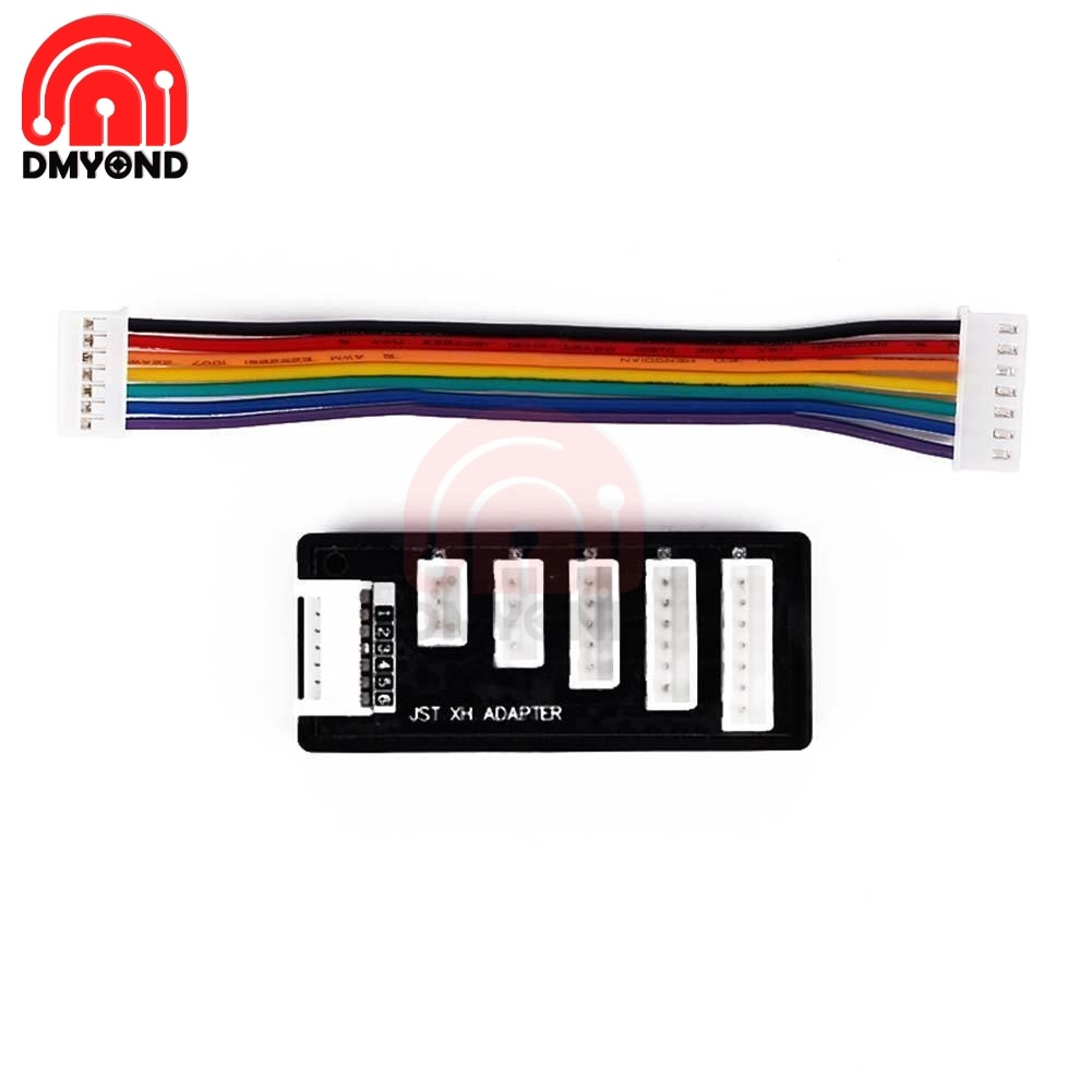 AliExpress - 2s 3s 4s 5s 6s LiPo Battery Balance Charger Adapter RC  Connector 22AWG JST-XH Balancer Cable Expansion Board For MEGA Power 860