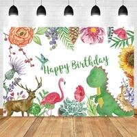 dinosaur deer flamingo safari wild newborn baby birthday photography backdrop vinyl photographic background photophone photocall