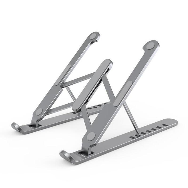Soporte para portátil para Mac Book Pro, soporte plegable de aleación de aluminio para Tablet, soporte para portátil, soporte para Notebook