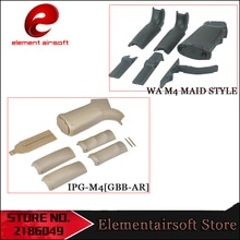 Element Tactical Outdoor sports CS model toy M4 M16 special MP MAID rear grip tactical nylon grip gel ball gun LD35
