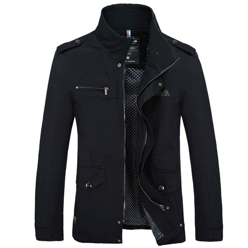 Брендовые мужские куртки, модные тренчи, новое осеннее повседневное тонкое пальто, черная куртка-бомбер, мужская длинная куртка