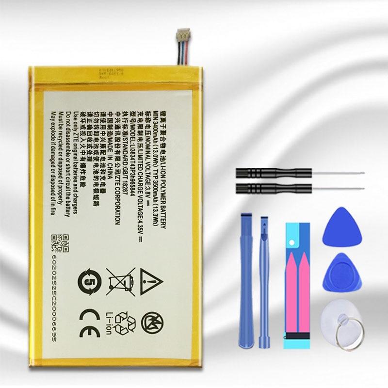 Li3834T43P3h965844 For ZTE ZMAX Z970 Grand Memo N5L LTE / N5 / N5S / N9520 / U5 / U5S / U969 / U9815 / V9815 Battery