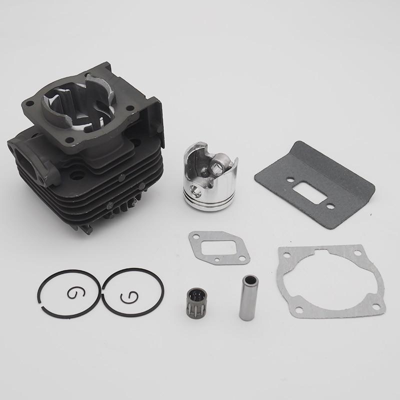 40MM & 44MM Cylinder Piston Kit For 1E40F-5 40-5 1E44F-5 44F-5 BG520 CG520 CG430 Garden Brush Cutter Trimmer  Spare Tool Parts