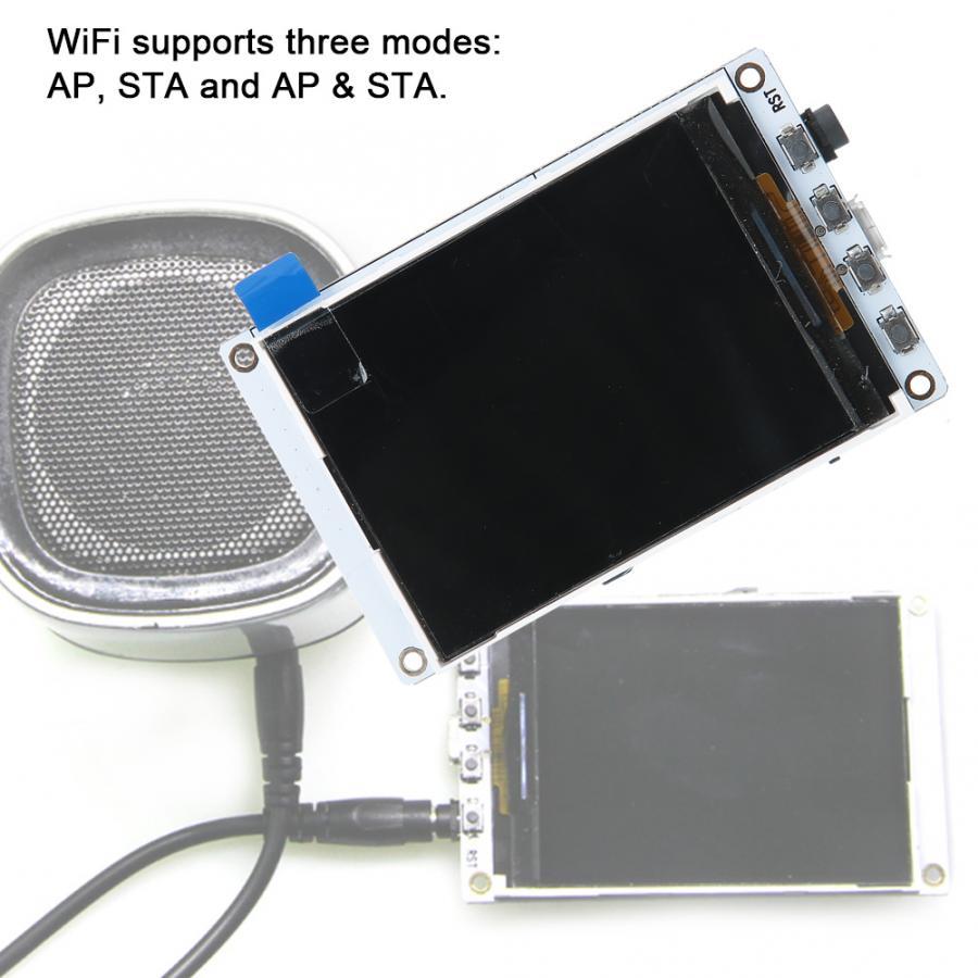 Álbumes de música TTGO Tm 2,4 pulgadas TFT PCM5102A TF tarjeta ESP32 WiFi + Módulo de placa de desarrollo de módulo Bluetooth