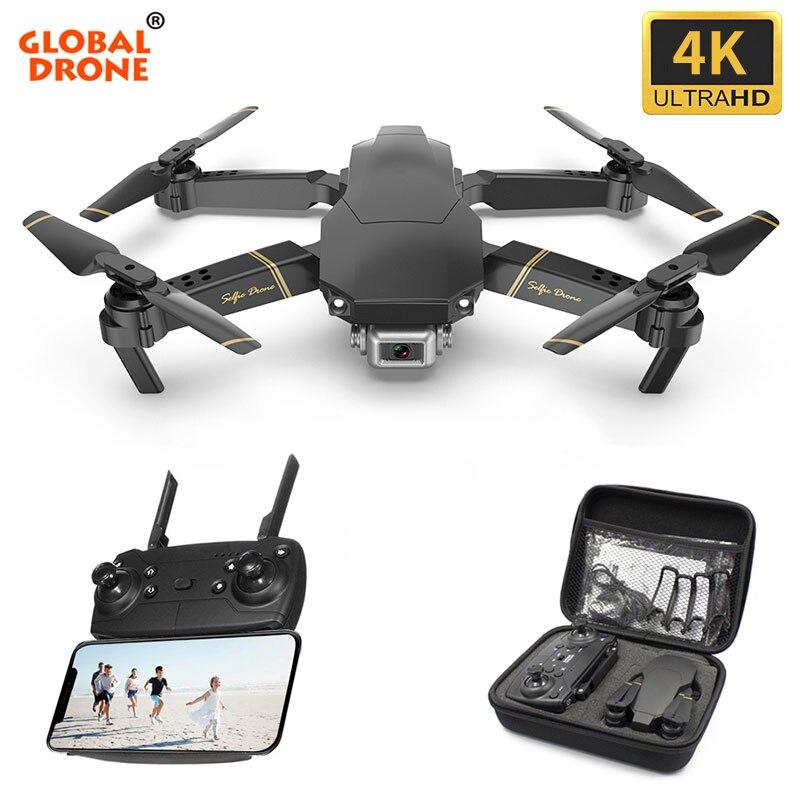 Global Drone 4K EXA Dron con cámara HD de vídeo en directo Drone X helicóptero RC Pro FPV giroscopio Drones del Drone E58 E520