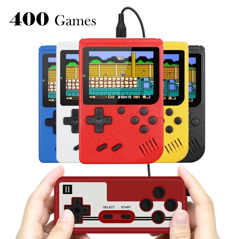 Mini videojuego portátil Retro para niños, 8 bits, 3,0 pulgadas, LCD a...
