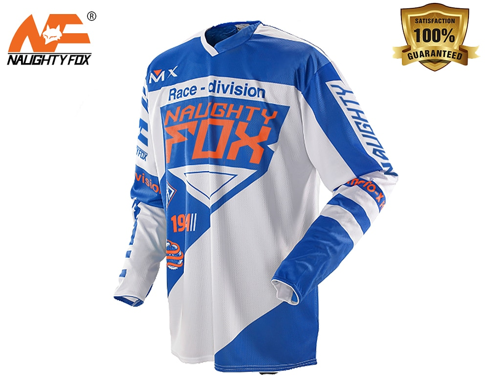 Race Jersey Men's Motocross/MX/ATV/BMX/MTB Dirt Bike Adult Off-Road Men's Motorcycle Racing T shirt