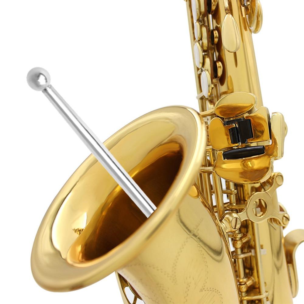 Saxophone Sheet Metal Ball Barrel Ball Long Rod Brass Wind Musical Instrument Accessories for Alto Tenor Sax Repair Tool Set enlarge