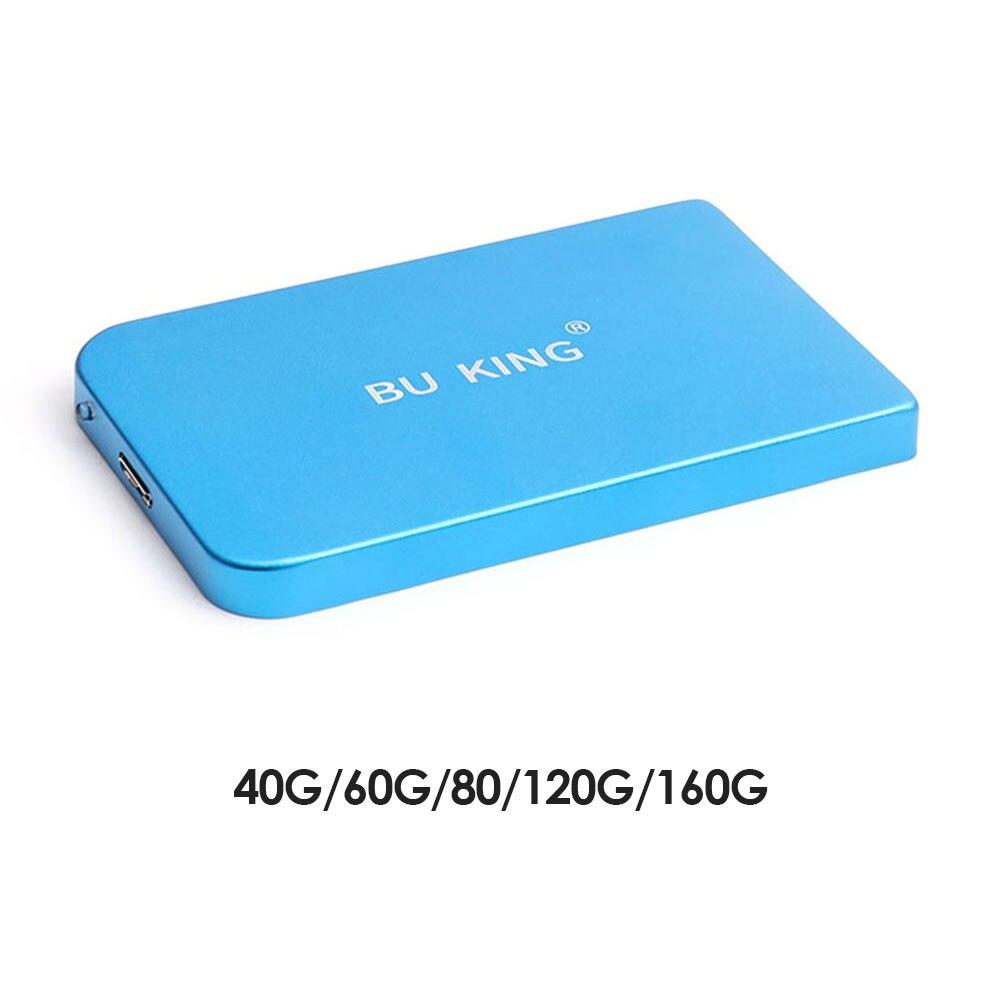 كمبيوتر محمول HD YD0004 قرص صلب خارجي USB 3.0 محمول HHD 160GB 120GB 80GB 60GB 40GB قرص صلب خارجي