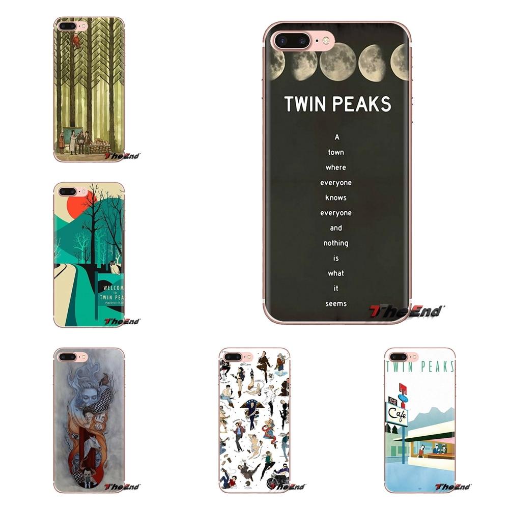 De silicona de vivienda caso para Oneplus 3T 5T 6T Nokia 2 3 5 6 8 9 230 de 3310 2,1, 3,1, 5,1, 7 Plus de 2017 de 2018 Bienvenido a Twin Peaks tv show