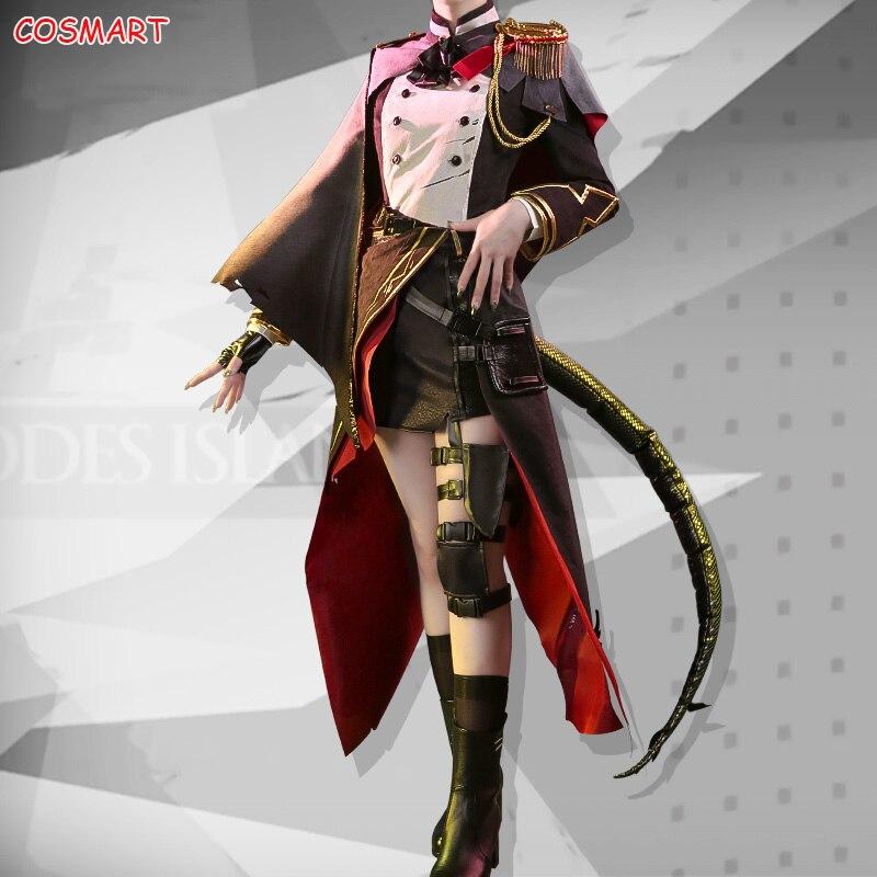 Festa de Halloween Outfit para Mulher Anime Arknights Talulah Arutoras Rhodes Ilha Jogo Terno Vestido Uniforme Cosplay Traje 2022 ne