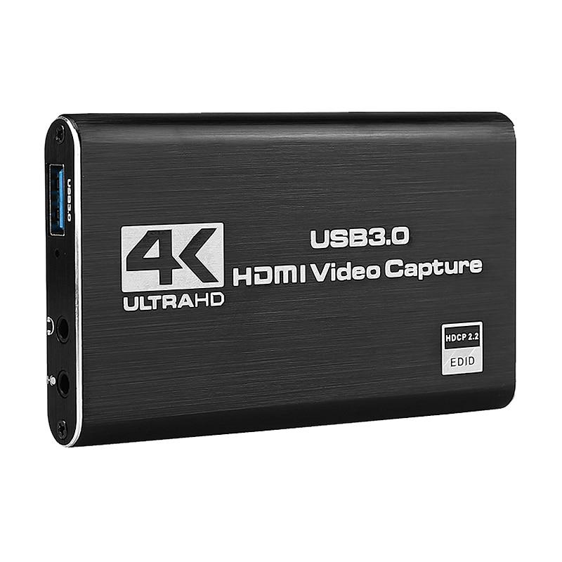 بطاقة التقاط فيديو HDMI 4K Sn ، جهاز التقاط الألعاب ، USB3.0 ، 1080P ، 60 إطارًا في الثانية