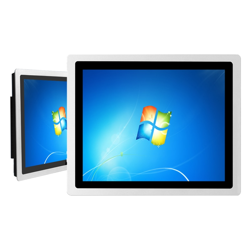 19 inch Embedded capacitive touch industrial tablet pc, 4G RAM 32G SSD core i5 mini pc ,win7/win8/win10 operating system