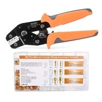 SN-48B Iwiss crimping tool 600pcs 4.8/5.08 plug terminal crimper pliers kit 26-16AWG wire 0.5-1.5mm² alicate hand tool krimptang
