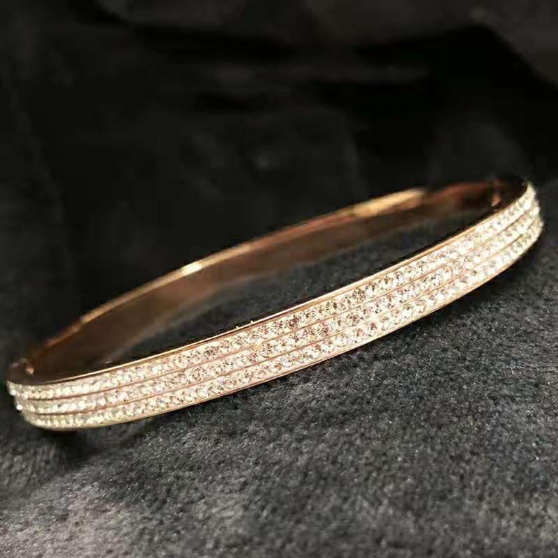 Review Women Luxury brands Gypsophila Bracelet S925 Sterling silver Jewelry Original high quality Screw Couple gifts European Hot Deals