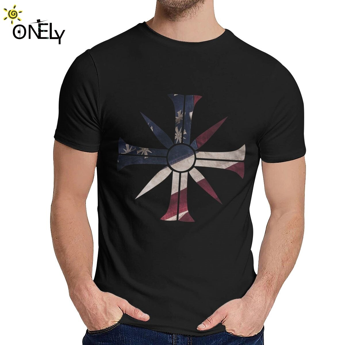 Camiseta para hombre, juego Far Cry 5, algodón de calidad, Casual, camiseta de Hip-Hop con cuello redondo para hombre