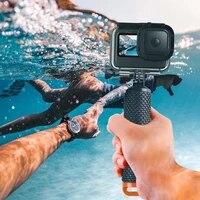 Water Floating Hand Grip Buoyancy Rod Pole Stick Monopod Tripod for Go Pro Gopro Hero 9 Action Camera Floaty Handle Pole Mount