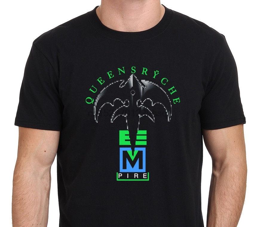 QUEENSRYCHE-Camiseta de banda de Rock de Metal para hombre de camisa de...
