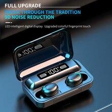 TWS Bluetooth 5.0 Earphones 2000mAh Charging Box Wireless Headphone 9D Stereo Sports Waterproof Earb