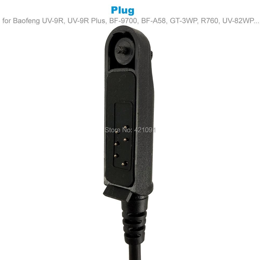A58 Z tactique PTT pour Baofeng UV9R UV-9R Plus UV-XR BF-A58 Radio talkie-walkie COMTAC MSA EARMOR TCA TRI otan casque U94 PTT