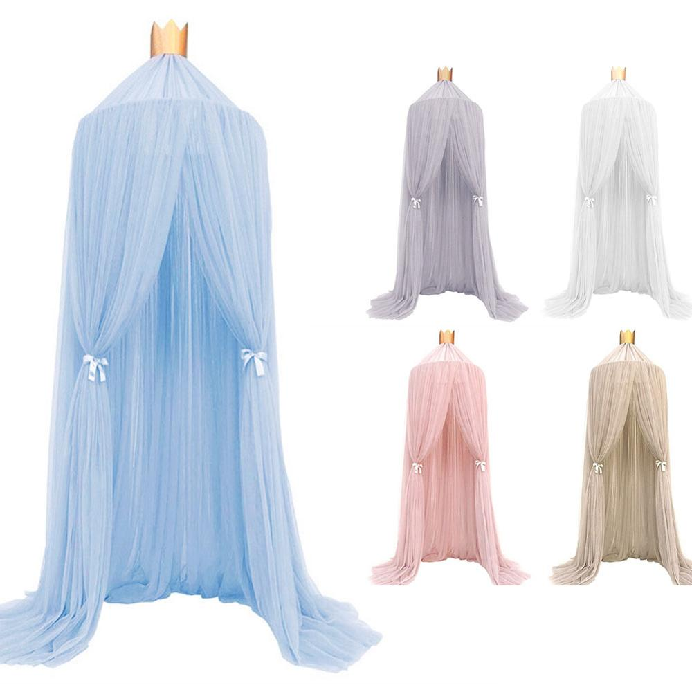 baby crib netting baby bed mosquito nets mattress pillow portable mosquito net tent crib sleeping cushion collapsible for kids Baby Crib Netting Mosquito Net Hanging Dome Dream Curtain Tent Baby Bed Canopy Round Mosquito Net Kids Tent Children Room Decor
