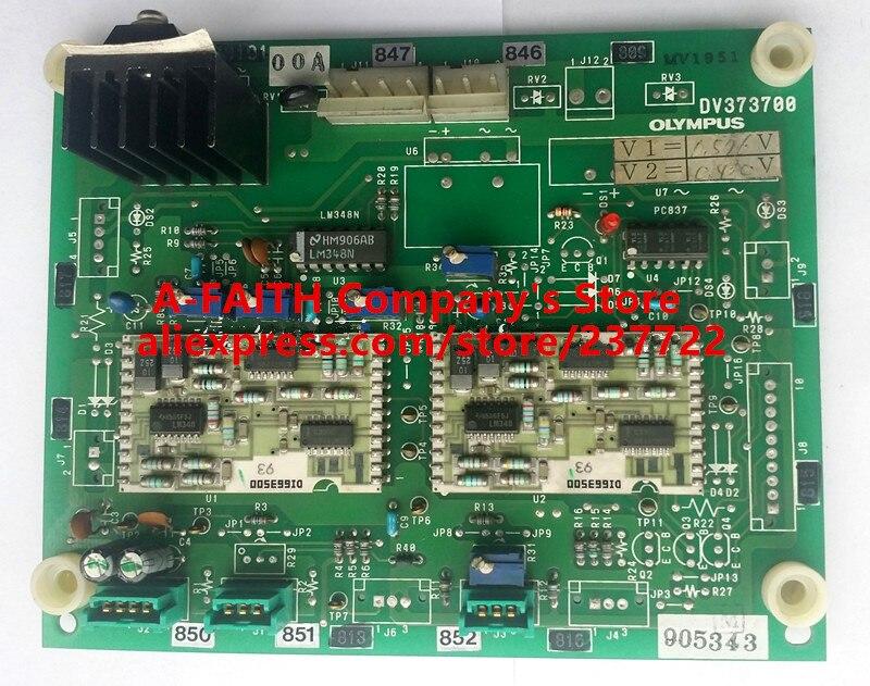 Б/у запчасти Beckman Olyps AU400 AU640 биохимический анализатор Драйвер доска/доска для вождения DV373700
