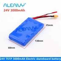 24v 3ah 7s1p 25 2v 29 4v 3000mah lithium ion battery pack for small electric unicycles scooters toys bicycle built in bms