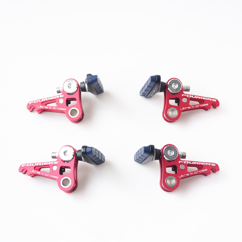 Fouriers Road Bicycle Brake clamp CNC Double Plate Design canti Brake system Caliper Brakes
