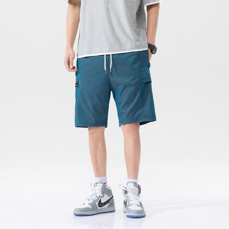 Мужские повседневные шорты-карго Summe Board, модные пляжные шорты-бермуды, дышащие пляжные шорты, мужские спортивные штаны