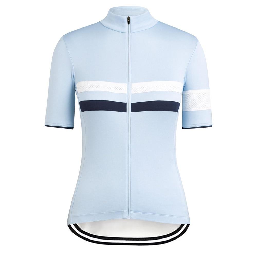 RCC-Camiseta De Ciclismo Para Mujer, Maillot De Manga Corta Para Bicicleta De Montaña, Transpirable, Verano, 2020