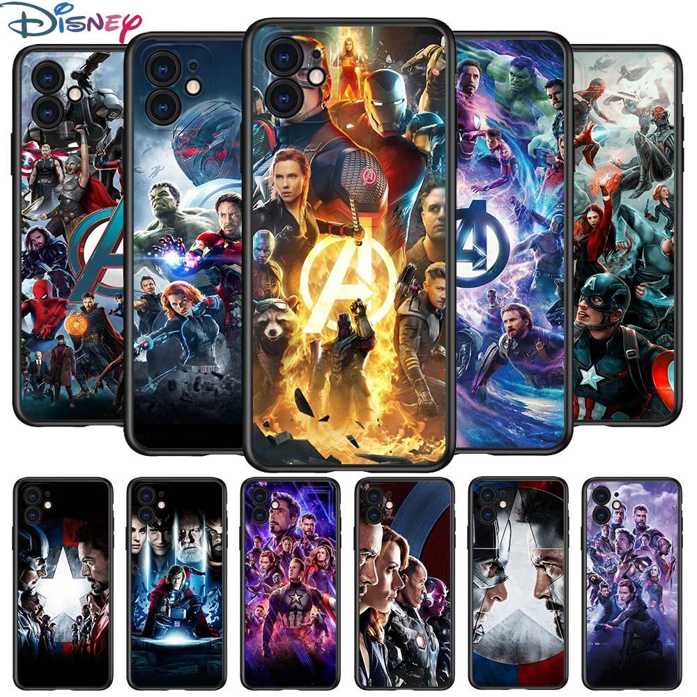 heroe-de-los-vengadores-para-apple-iphone-12-pro-max-mini-11-pro-xs-max-x-xr-6s-6-7-8-plus-5s-se2020-suave-negro-telefono-caso