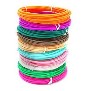 3D filements for 3D PEN 10colors 20 colors 1.75mm ABS Material Filament 3d Refill 3d handle plastic for 3 D Pen school drawing