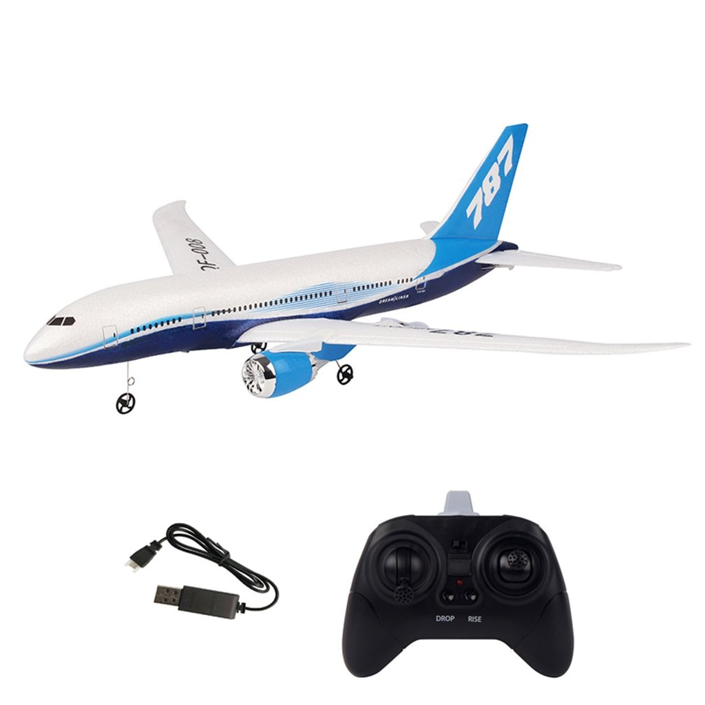 DIY Remote Control Aircraft EPP RC Drone Boeing 787 2.4G 3Ch RC Airplane Fixed Wing Plane For Kid Boy Birthday Gift enlarge