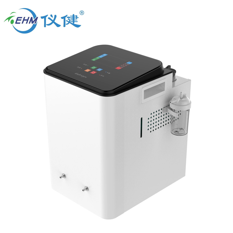 EHM hydrogen inhalation breathing machine  hydrogen inhaler 300ml/min enlarge