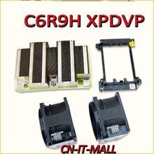New C6R9H XPDVP CPU Heatsink set for R740,2*Fan & 1*heatsink & 1* Cpu clip