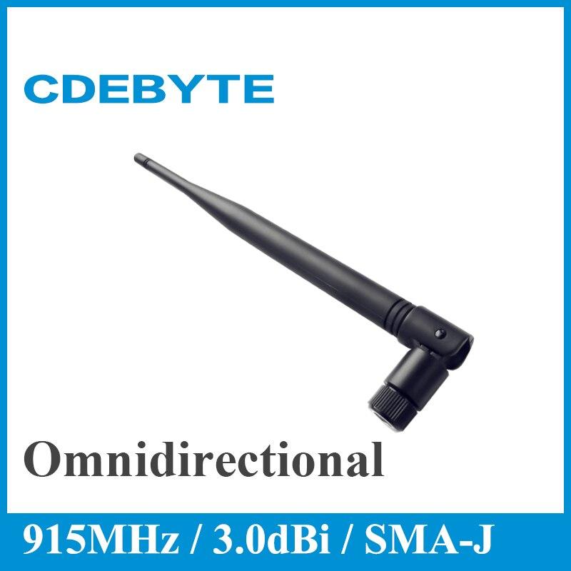 Ebyte TX915-JKS-20 915MHz Wifi антенна 3.0dBi с высоким коэффициентом усиления, ненаправленная антенна, гибкий интерфейс SMA