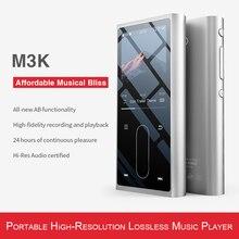 FiiO M3K Metal case Sport Audio Mini Lcd pantalla HiFi Mp3 Player música Audio Mp 3 con grabadora de voz para estudiantes, niños