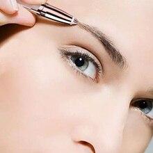 Sourcils rasoir de sourcils Mini épilateur de sourcils indolore pour les femmes rasoir de sourcils livraison directe