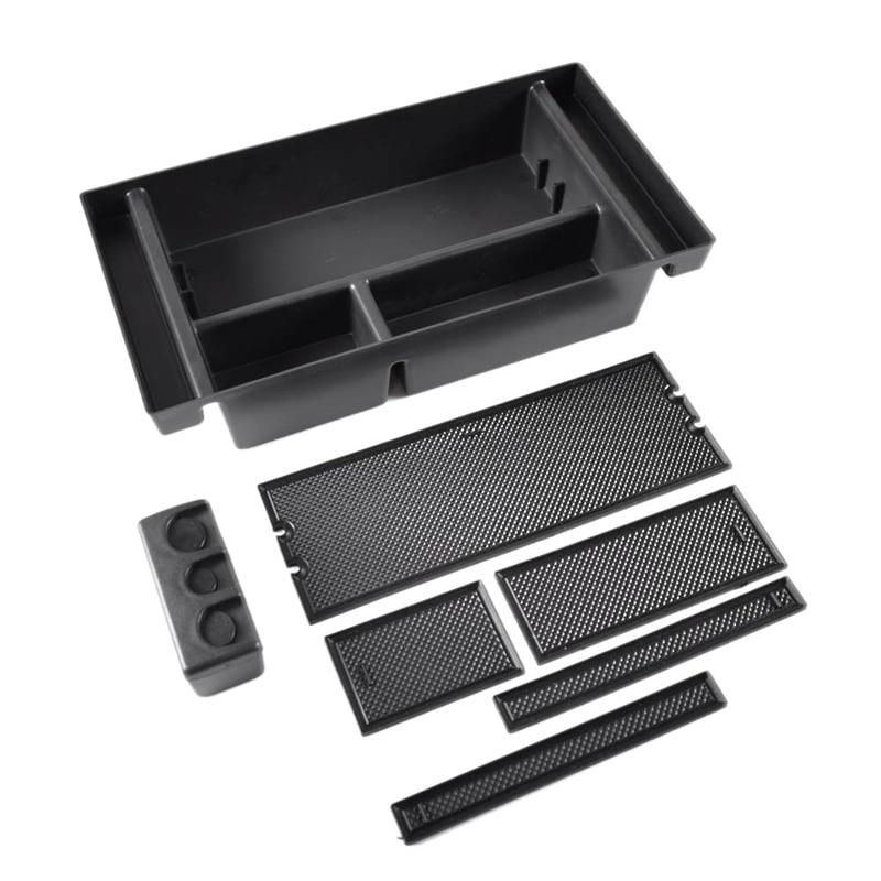 For 2019 Chevy Silverado 1500 / GMC Sierra 1500 Armrest Storage Box Center Console Organizer Tray GM Accessories 84106530