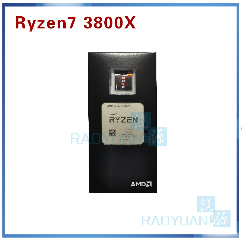 Neue AMD Ryzen 7 3800X R7 3800X3,9 GHz 7NM L3 = 32M 100-000000025 Acht- core Sechzehn-Gewinde CPU Prozessor Sockel AM4