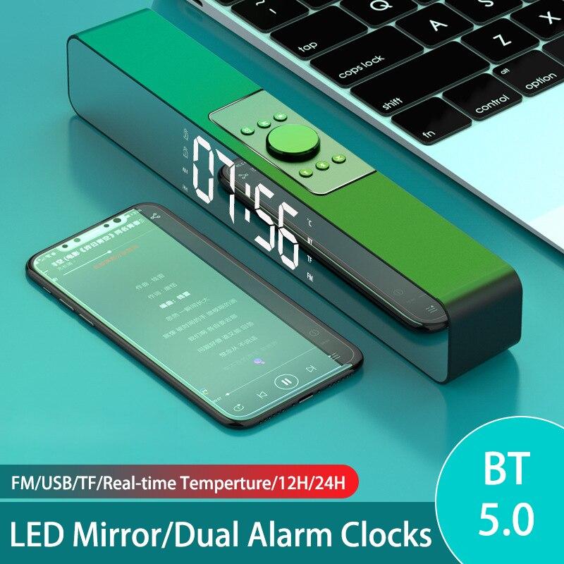 Altavoces PC Ordenador LED Altavoz Bluetooth Potente Barra De Sonido Para tv...