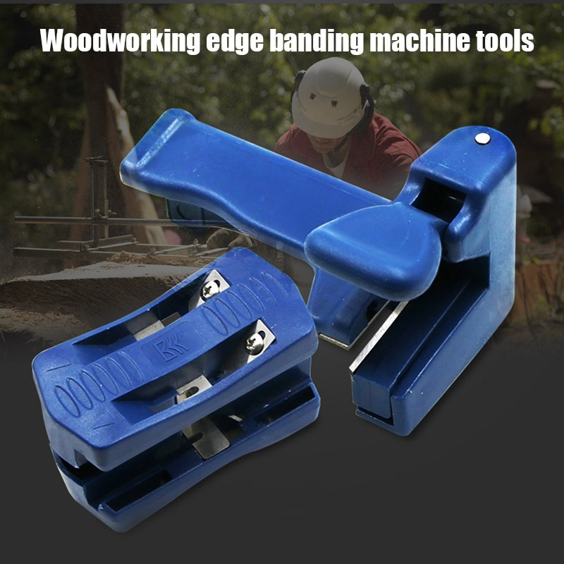 Double Edge Trimmer Banding Machine Wood Head Tail Trimming Carpenter Tools In Stock