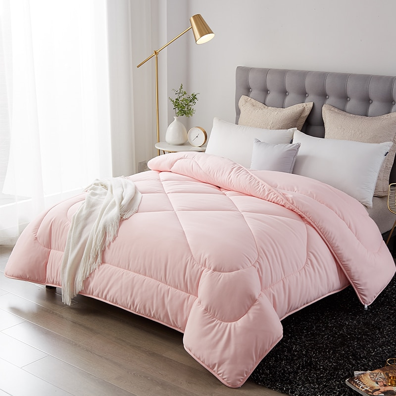 نمط جديد سميكة ودافئة لحاف الشتاء حاف الخبز شكل المعزي طقم سرير بطانية الطباعة الفاخرة 100% ريشة النسيج المعزي