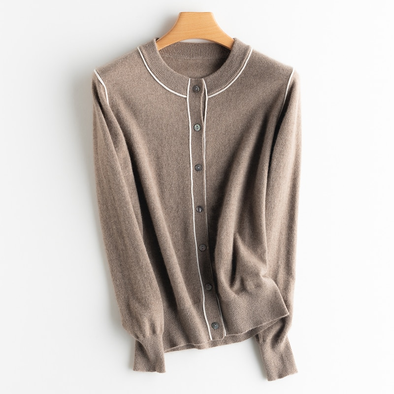 Ladies Casual Cashmere Sweater, Pure Cashmere Fall/winter Pullover Woman Sweaters  Women Cardigan enlarge