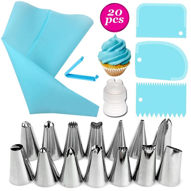 26-20-18-pz-set-in-acciaio-inox-torte-di-plastica-decorazione-ugello-pasticceria-set-multiuso-con-crema-sacchetto-di-pasticceria-gadget-da-cucina