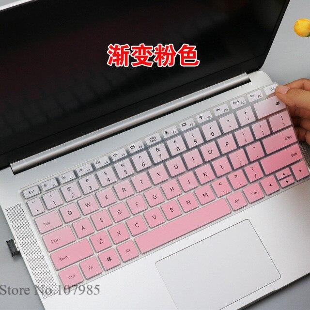 Piel cubierta de teclado de silicona Protector Mate libro D14 2020 para HUAWEI MateBook D 14 2020 (R5 3500U/8GB/512GB/ Linux)