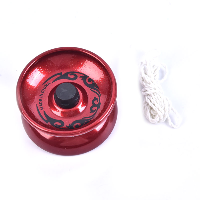 1Pc Professional YoYo Aluminum Alloy String Trick Yo-Yo Ball Bearing for Beginner Adult Kids Classic fashion interesting Toy