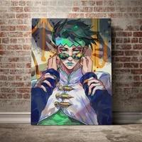 hot new poster rohan kishibe jojos bizarre adventure canvas poster painting wall art decor living room bedroom home decoration