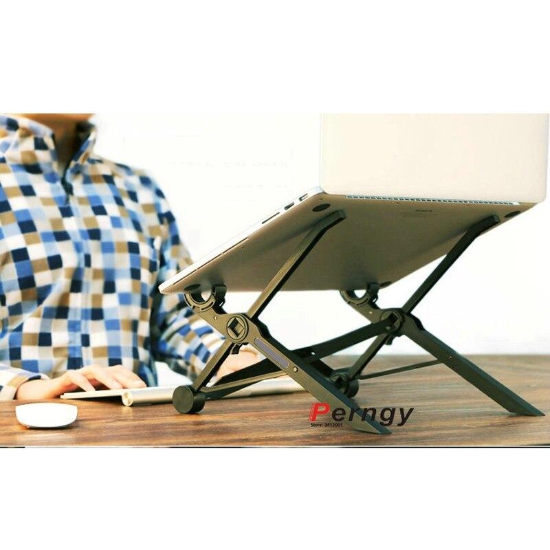 """DL-K2 portátil altura ajustable 10kg 11,6 """"-27"""" macbook mount laptop escritorio stand pad soporte de escritorio soporte Led soporte"""